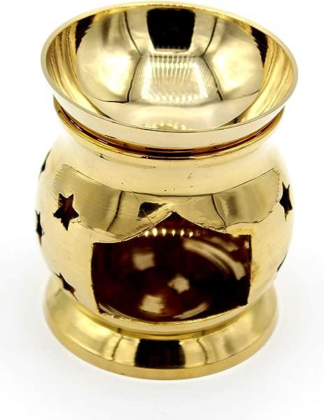 Feng Shui Import LLC Brass Incense Oil Burner