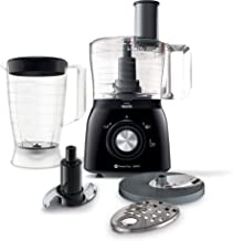 Philips Viva Collection 600 W 1.3 L Food Processor, HR7631/90, Black, 1 Year Brand Warranty, UAE Version