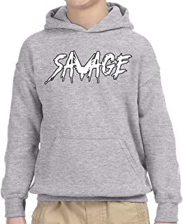 New Way 788A - Youth Hoodie Savage Maverick Logang Logan Paul Unisex  Pullover Sweatshirt f61c8a948
