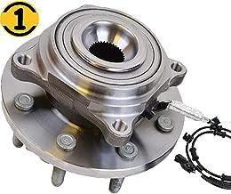 Front Wheel Hub Bearing Assembly Fit 2014 2015 2016 2017 2018 Ram 2500, 2013-2018 Ram 3500 Hub Bearing w/ABS, 8 Lugs, Replace 515162