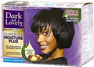 Dark and Lovely Moisture Plus No Lye Relaxer Regular for Normal Hair