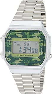 Casio A168WEC-3EF for Unisex (Digital, Casual Watch)