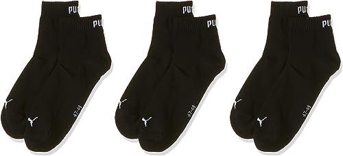 PUMA Quarter Plain 3p - Chaussettes de sport - Homme