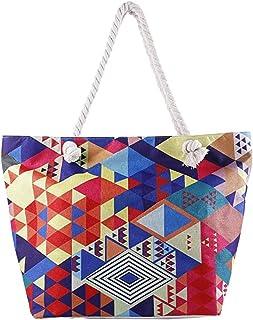 Extra Large Beach Bag for Women Waterproof Weekender Big Pool Tote Bag With Zipper, Inner Pocket