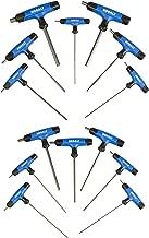 Kobalt 759896 14-Piece T-Handle Hex Key Set, Inch/Metric