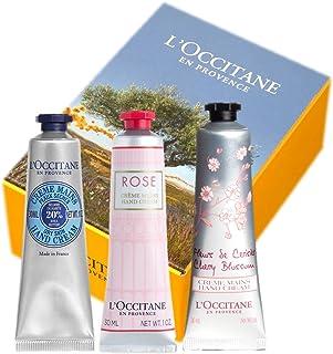 ロクシタン(L'OCCITANE) ロクシタン フラワーハンドクリームトリオ(シア・ローズ・チェリー) セット 30ml×3個