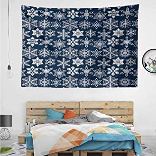 HuaWuChou Crochet Style Motifs Tapestry Wall Covering, Wall Tapestry with Art Nature Home Decorations for Living Room Decor, 36W x 24L Inches