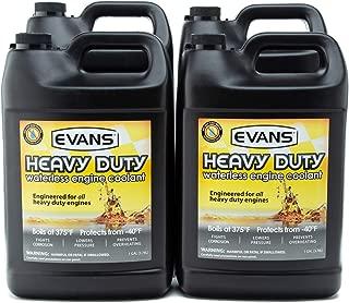 Evans Coolant EC61001 Heavy Duty Waterless Coolant, 4 Gallon Pack