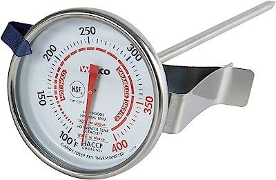 Winco Termómetro de 5 cm con sonda de 5 pulgadas