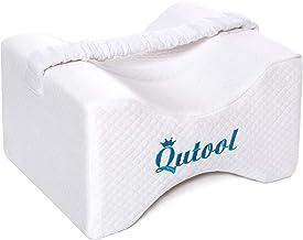 Orthopedic Knee Pillow for Side Sleeper Memory Foam Leg Pillow for Sleeping Wedge Contour for Sciatica, Pregnancy, Hip, Ba...