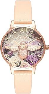Olivia Burton Women's Analogue Japanese Quartz Watch with Leather Strap OB16EG98