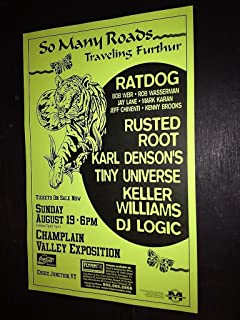 Ratdog Bob Weir Rusted Root DJ Logic Keller Williams Karl Denson Concert Poster