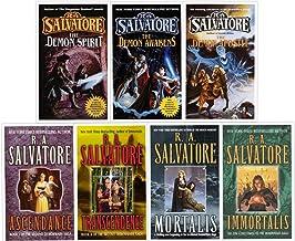 R.A. Salvatore Demonwars Saga 1 and Demonwars Saga 2 set (Demonwars Saga)