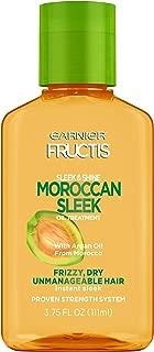 Garnier Fructis Sleek & Shine Moroccan Sleek Oil Treatment, 3.75 Fl. Oz 3 Count