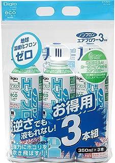 ナカバヤシ エアダスター 逆さ使用OK トリガータイプ カーボンオフセット付 ノンフロン 3本組 44944