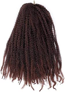 Soft Afro Kinky Natural Soft Marley braiding Extension For Braids 18