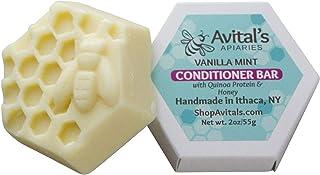 Vanilla Mint Conditioner Bar with Quinoa Protein