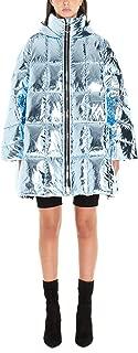 IENKI IENKI Luxury Fashion Womens CROPPEDPYRAMIDELIGHTBLUE Light Blue Outerwear Jacket   Fall Winter 19
