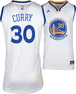 8dce6a287 Stephen Curry Golden State Warriors Adidas White Swingman Jersey - Size XL  - Fanatics Authentic Certified