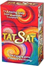 Summer or Family Travel game - Tat Sat is a fun Mythology Card Game - Interactive Party, Camp or Back to School Game for all ages. Game for Rick Riordan theme lovers. Gods & Goddesses come to life.