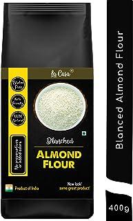 La Casa Gluten-Free Blanched Almond Flour   Keto Friendly   Protein-Rich   100% Natural   400g  