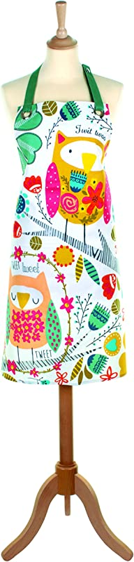 Ulster Weavers 37 4 X27 6 Twit Twoo Oilcloth Apron