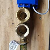 """Details about  /3 Way L Port 12V//24VDC 110V//230VAC 1//2/"""" 3//4/"""" 1/""""  Motorized Electrical Ball Valve"""