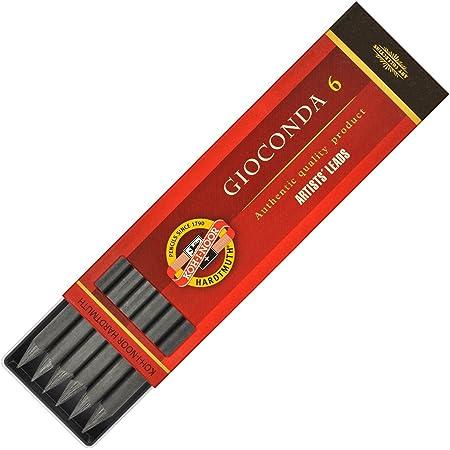 Koh-I-Noor 6 Gioconda 5.6 mm Graphite Leads. 4865/2B