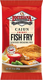 Louisiana Fish Fry, Cajun Fry, 10 oz (Pack of 12)
