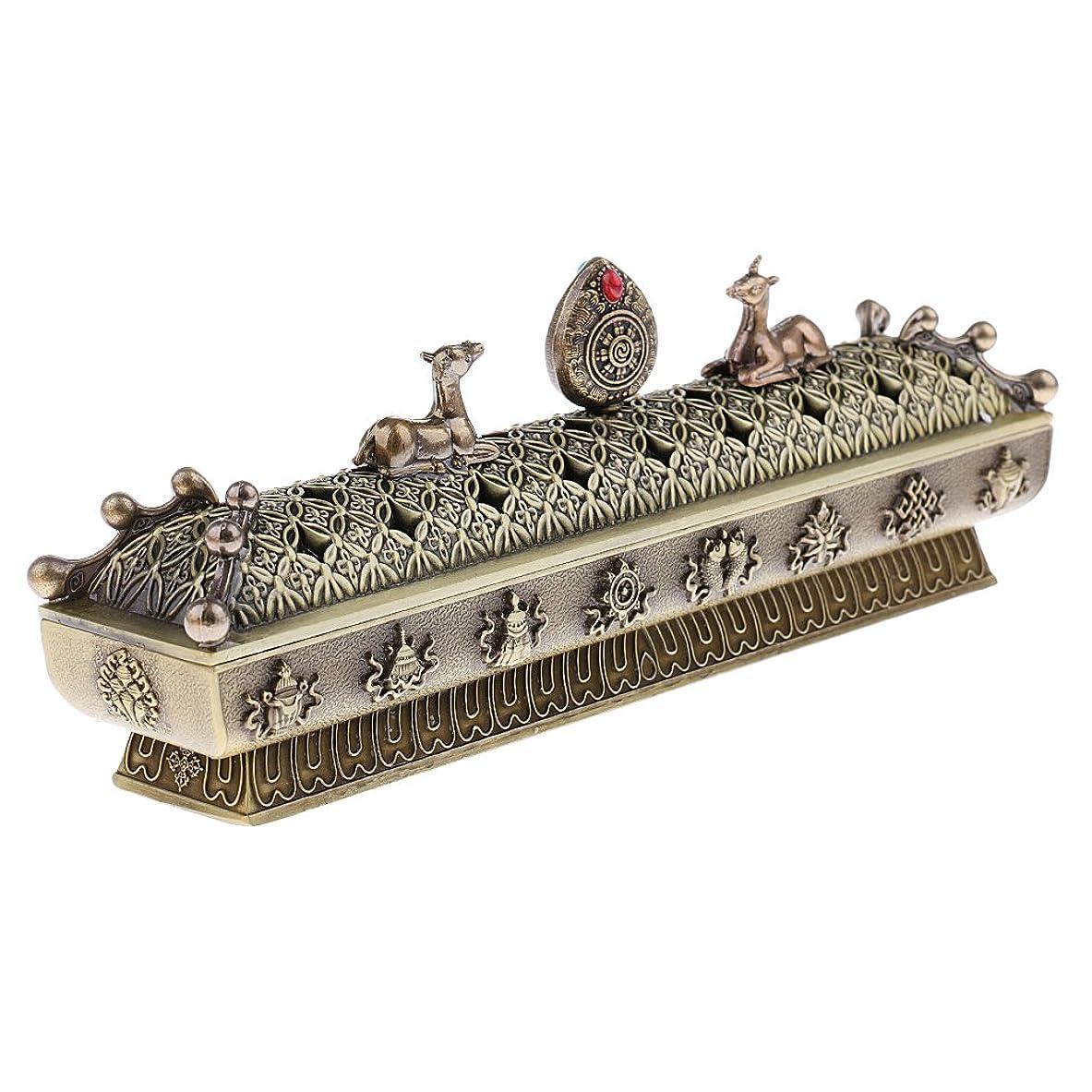 伝染病散歩硬化するSONONIA 仏教 コーン 香りバーナー アッシュキャッチャー 香炉 全3色 - ブロンズ