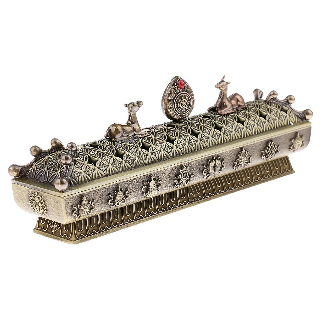 汚れた寝る鳩SONONIA 仏教 コーン 香りバーナー アッシュキャッチャー 香炉 全3色 - ブロンズ