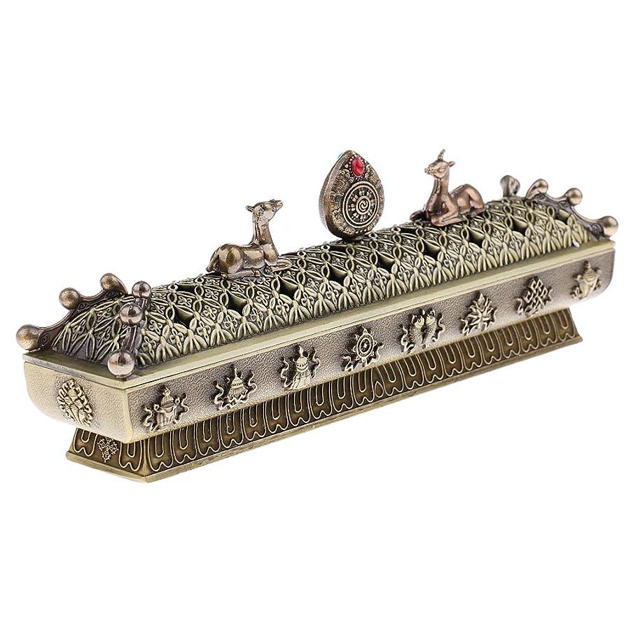 サイズ追い越す追い越すSONONIA 仏教 コーン 香りバーナー アッシュキャッチャー 香炉 全3色 - ブロンズ