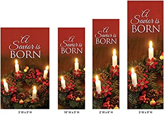 advent worship banners
