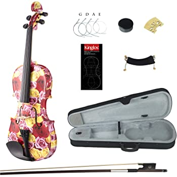 Great  Pro 4//4 Red EVA Material Case New Model Free strings set