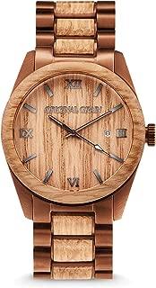 luno wear the orca men's wood watch