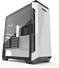 Phanteks Eclipse P600S Hybrid Silent and Performance ATX Chassis -Tempered Glass, Fabric Filter, Dual System Support, PWM hub, Sound dampening Panels, Glacier White