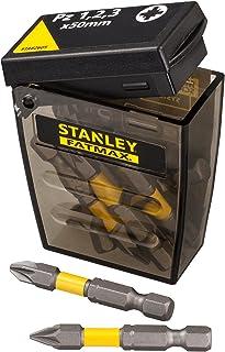 STANLEY STA62605-XJ Tic Tac con 10 piezas. 9 puntas y adaptador magnético