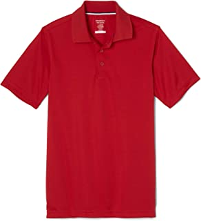 French Toast Men's Moisture Wicking Stretch Sport Polo Shirt