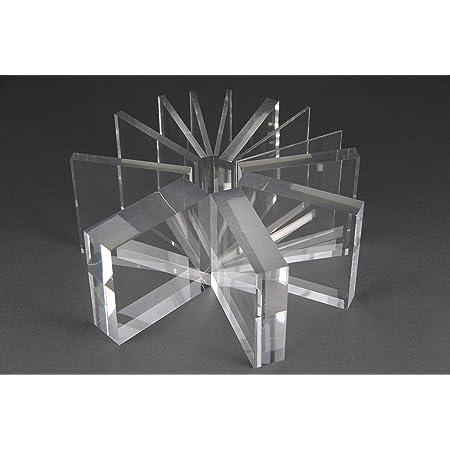 15,0 mm stark Wunschma/ß Zuschnitt bis Gr/ö/ße 25 x 50 cm UV-best/ändig 250 x 500 mm beidseitig foliert B/&T Metall Acrylglas PMMA XT Platte transparent