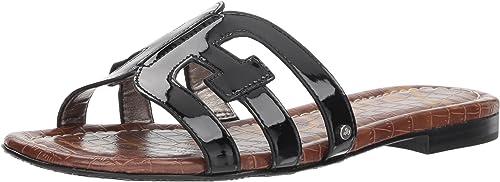 Sam Edelman Wohommes Bay Slide Sandal, noir Patent, 6 M US