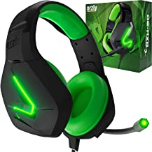 Best Orzly Gaming Headset for PC and Gaming Consoles PS5, PS4, Xbox Series X | S, Xbox ONE, Nintendo Switch & Google Stadia Stereo Sound with Noise Cancelling mic - Hornet RXH-20 Sagano Edition Review