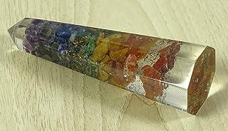 Reikiera Cristal De Guérison D'Équilibrage De La Méditation Tour Obélisque Minérale Pierre-9-11 Reiki Spirituelle Cm
