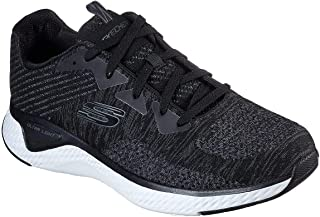 حذاء رياضي للرجال من سكيتشرز موديل 52758-BKW