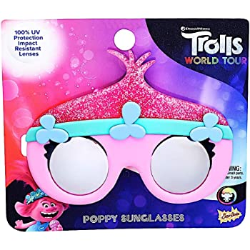 Sun-Staches Costume Sunglasses Lil Characters Trolls Branch Party Favors UV400
