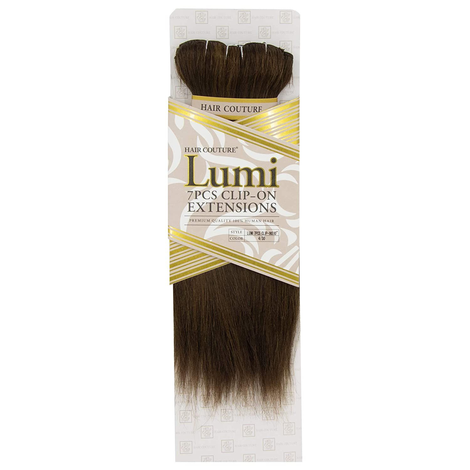 HAIR COUTURE Clip-In Extensions Lumi 7 1B Ranking TOP3 Piece Clip-Ins 10