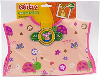 Nuby 4278 Bib Water Proof - pink