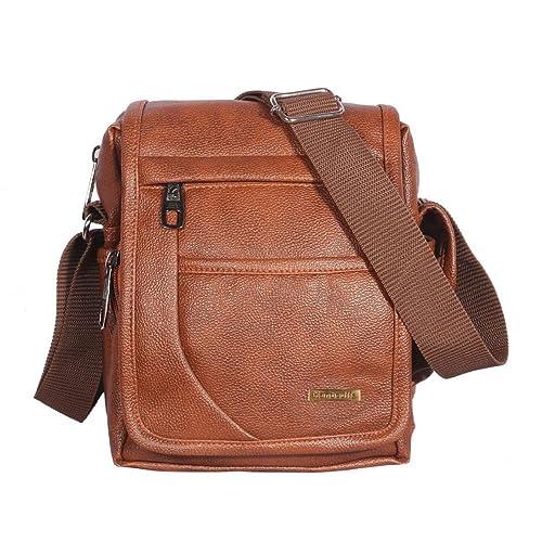 4d3f97ce860f Handcuffs Mens Bag Messenger Bag Leather Shoulder Bags Travel Bag Man Purse  Crossbody Bags for Work