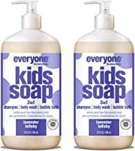 Everyone 3-in-1 Kids Soap: Shampoo, Body Wash, and Bubble Bath, Lavender Lullaby, 32 Ounce, 2 Count