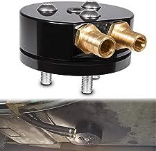 Fuel Tank Gas Dual-Port Sump w/Integrated Return for Airdog/FASS Cummins, Duramax, Powerstroke