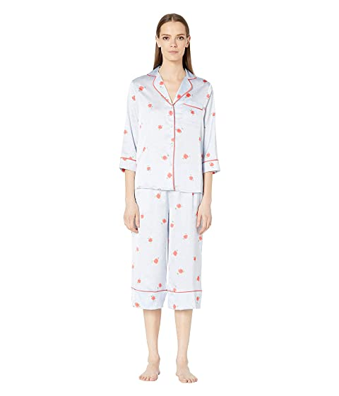 Kate Spade New York Charmeuse Capris Pajama Set